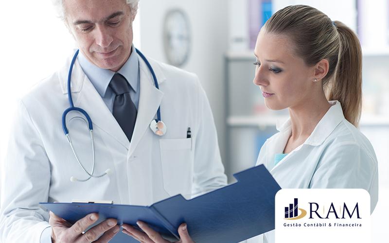 Contabilidade Para Médicos E Profissionais Da Saúde - Da Escrituração Fiscal A Tomada De Decisao Post - Ram Assessoria Contábil